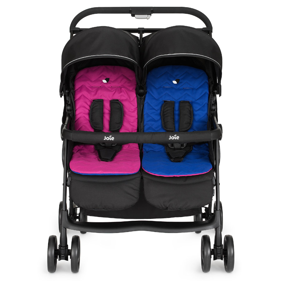 Joie Aire Twin Tvillingvagn Pink and Blue