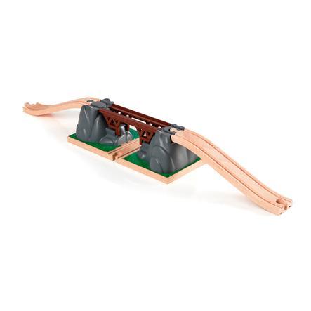 BRIO - Puente para circuito de tren de juguete de madera