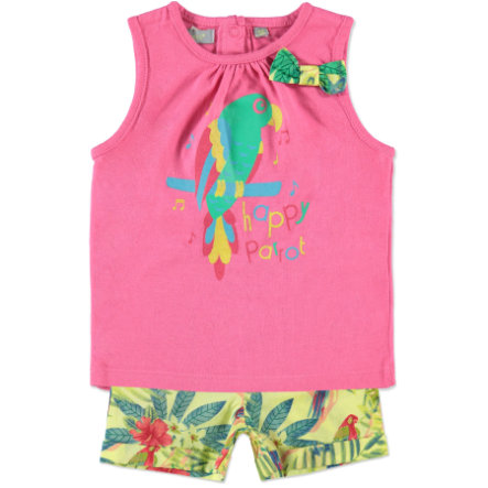 TRICKY TRACKS Girls Mini Set roze/geel
