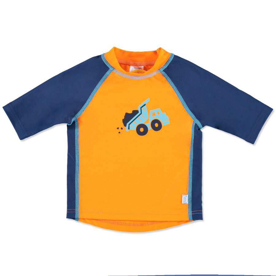 i play.® Rashguard Sleeve Boys ORANGE DUMPTRUCK