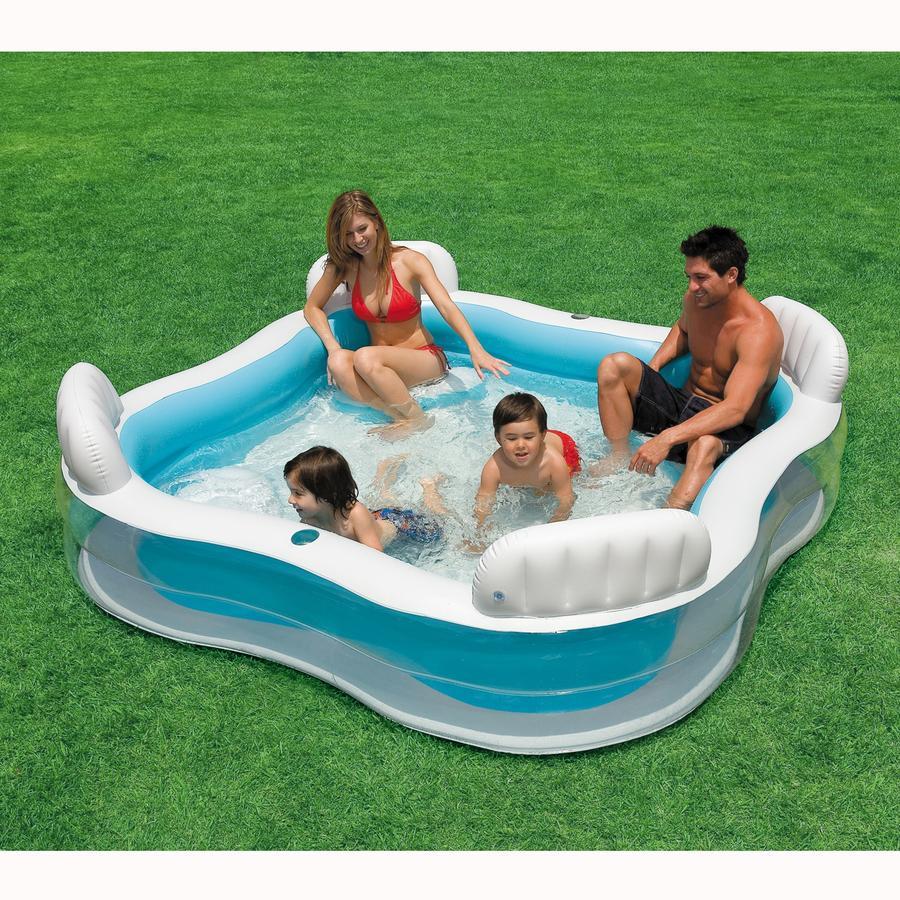 INTEX Piscine Swim Center Family Lounge Pool