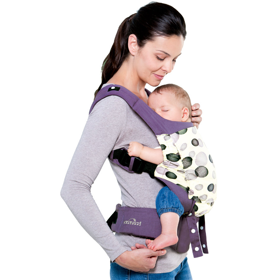 AMAZONAS Porte-bébé Smart Carrier Blueberry lilas