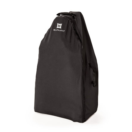 BURLEY Transportní taška Burley Solstice, Cestovní pouzdro na kolečkách černé
