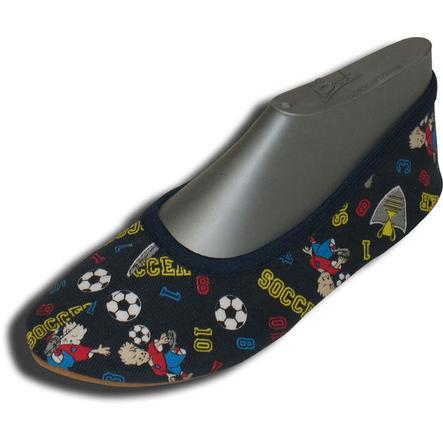 BECK Chaussures de gymnastique enfant FOOTBALL bleu / à motifs
