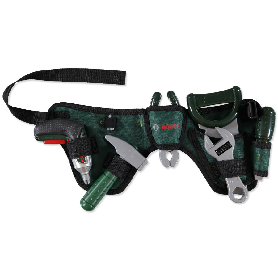 KLEIN BOSCH Mini Tool Belt and Ixolino Power Screwdriver