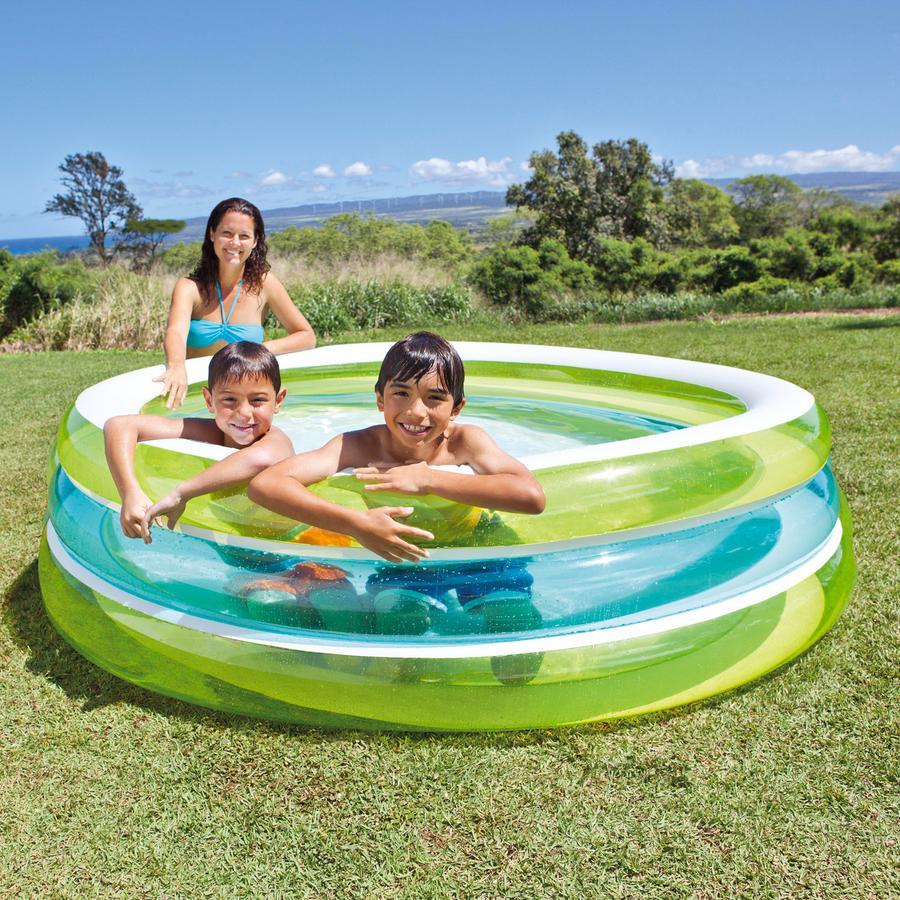 INTEX Piscine Swim Center™ See-Through Pool - 203 x 51 cm