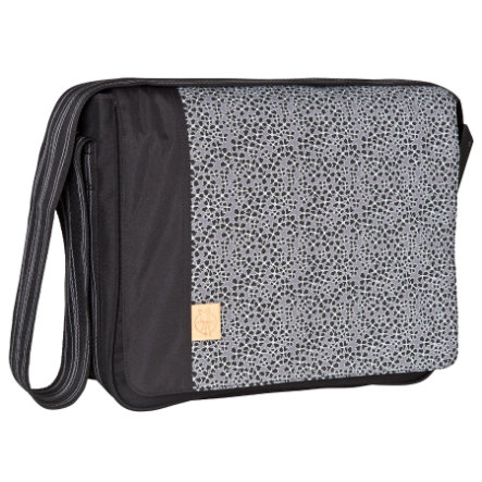 LÄSSIG Borsa Fasciatoio Casual Messenger Bag Solid Black