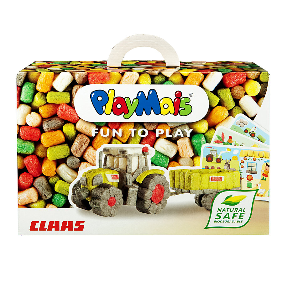 PlayMais® Classic FUN TO PLAY Claas Axion