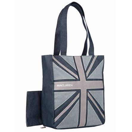 MacLaren Change Bag Multi-purpose, demin flag