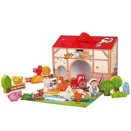 HABA My first play world - Large play set On the Farm 5581