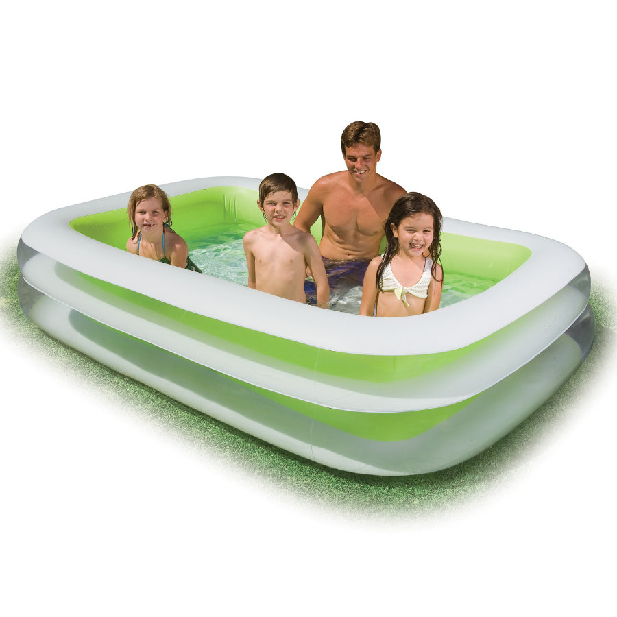 INTEX Swim Center Familjepool - 253 x 175 x 56cm