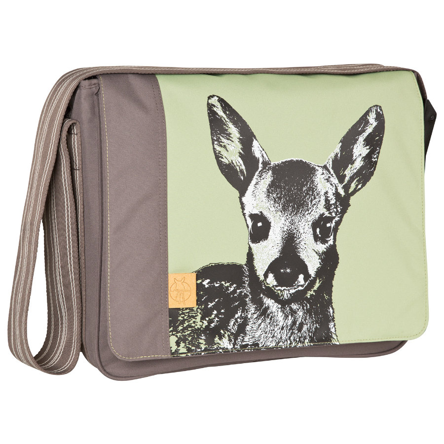 LÄSSIG Casual Messenger Bag Fawn tarragon