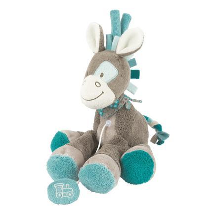 NATTOU Gaston & Cyril Mini-hrající hračka, Gaston koníček