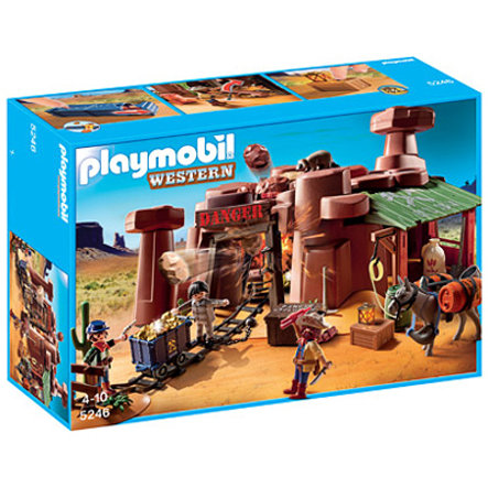 PLAYMOBIL Gold Mine with Box of Explosives 5246
