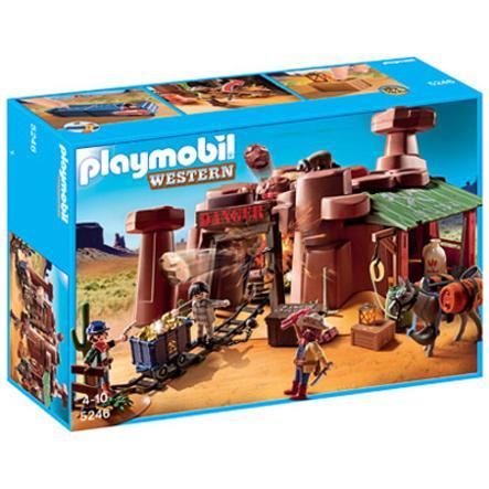 PLAYMOBIL Goldmine mit Sprengkiste 5246