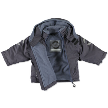 MIKK-LINE Boys Mini Jacke antracite