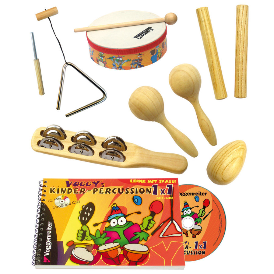 Voggenreiter Voggy's Kinder-Percussion-Set