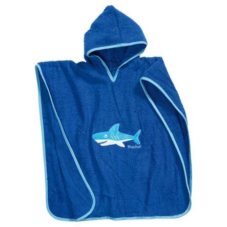 PLAYSHOES Ponczo kąpielowe Rekin