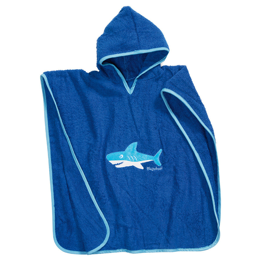 Playshoes Frottee-Poncho Hai