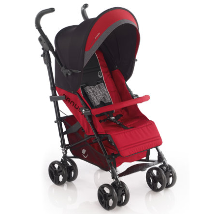 JANE Buggy Nanuq XL Scarlet