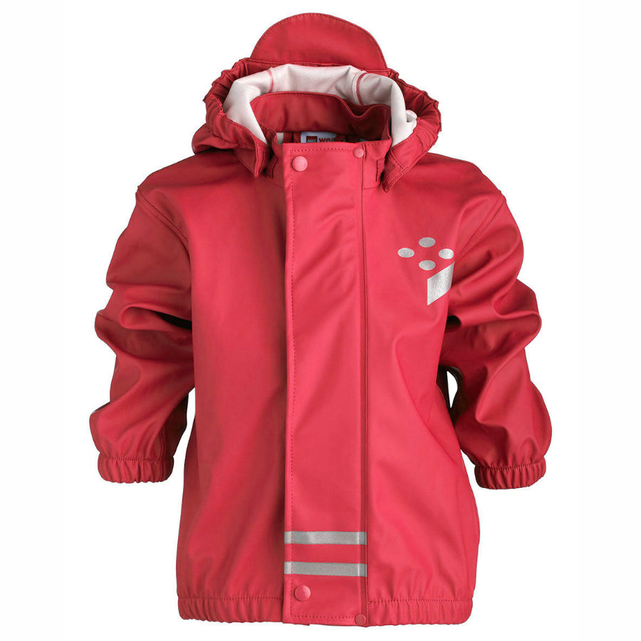 LEGO WEAR Girls Mini Rain Jacket JESSI bright red