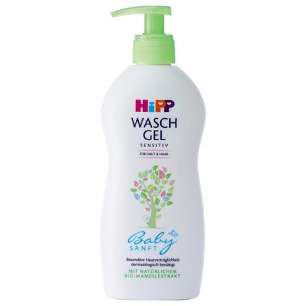 HiPP Babysanft Waschgel Haut & Haar 400 ml