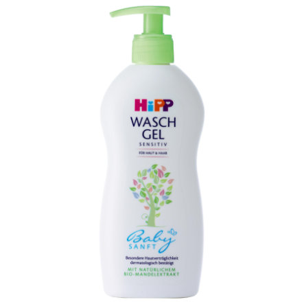 HiPP Babysanft Washing Gel Skin & Hair 400ml