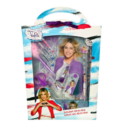 UNDERCOVER Kit école All-in-One Disney Violetta