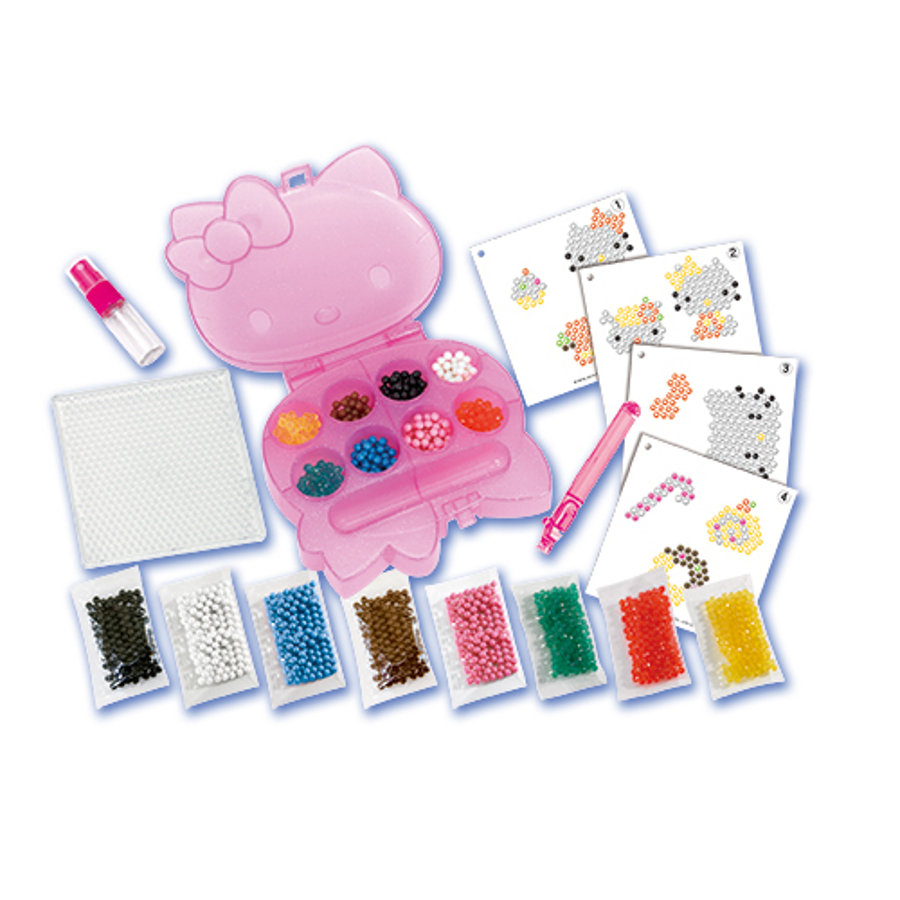Aquabeads® Ensemble motifs scintillants Hello Kitty