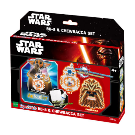 Aquabeads® Ensemble personnages Star Wars  BB-8 et Chewbacca