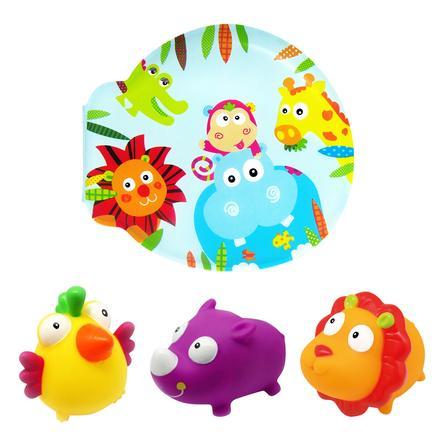 knorr® toys escabbo® - Knížka do vody se safari
