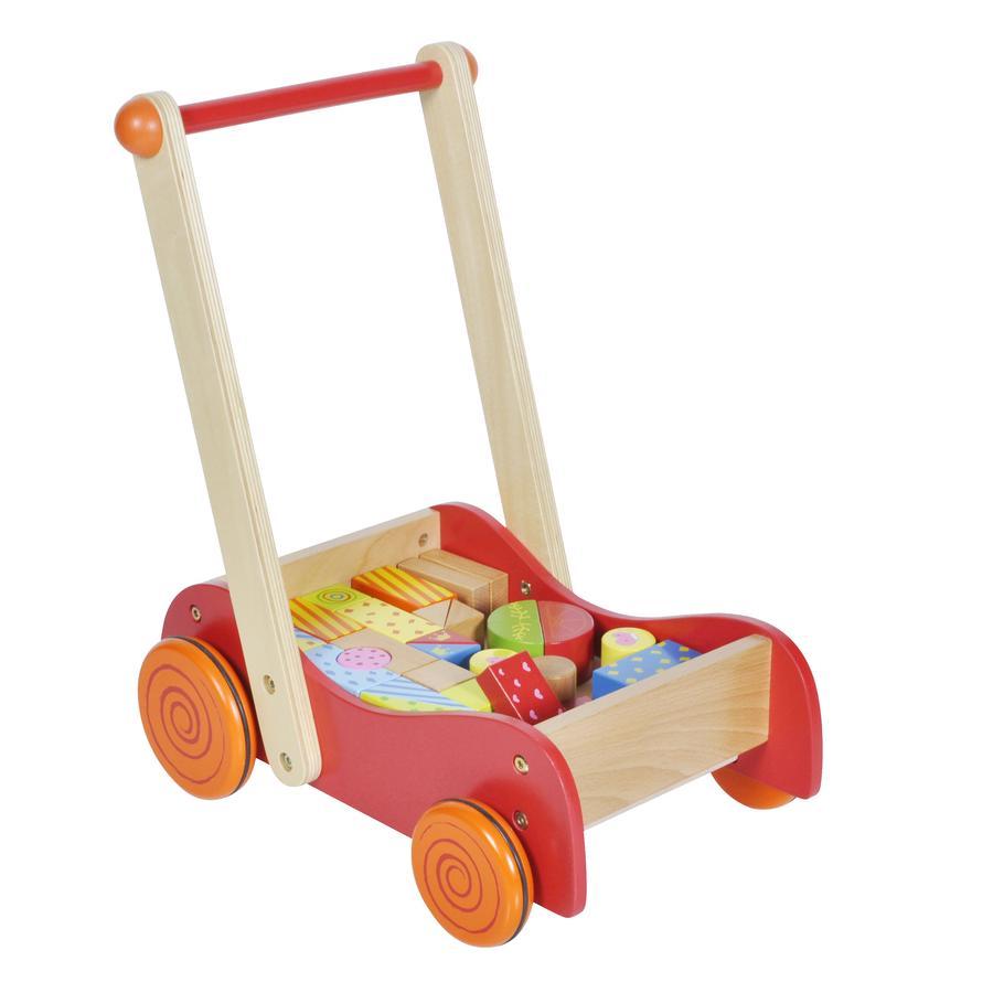 knorr® toys Carrello primi passi Speedster Freddy