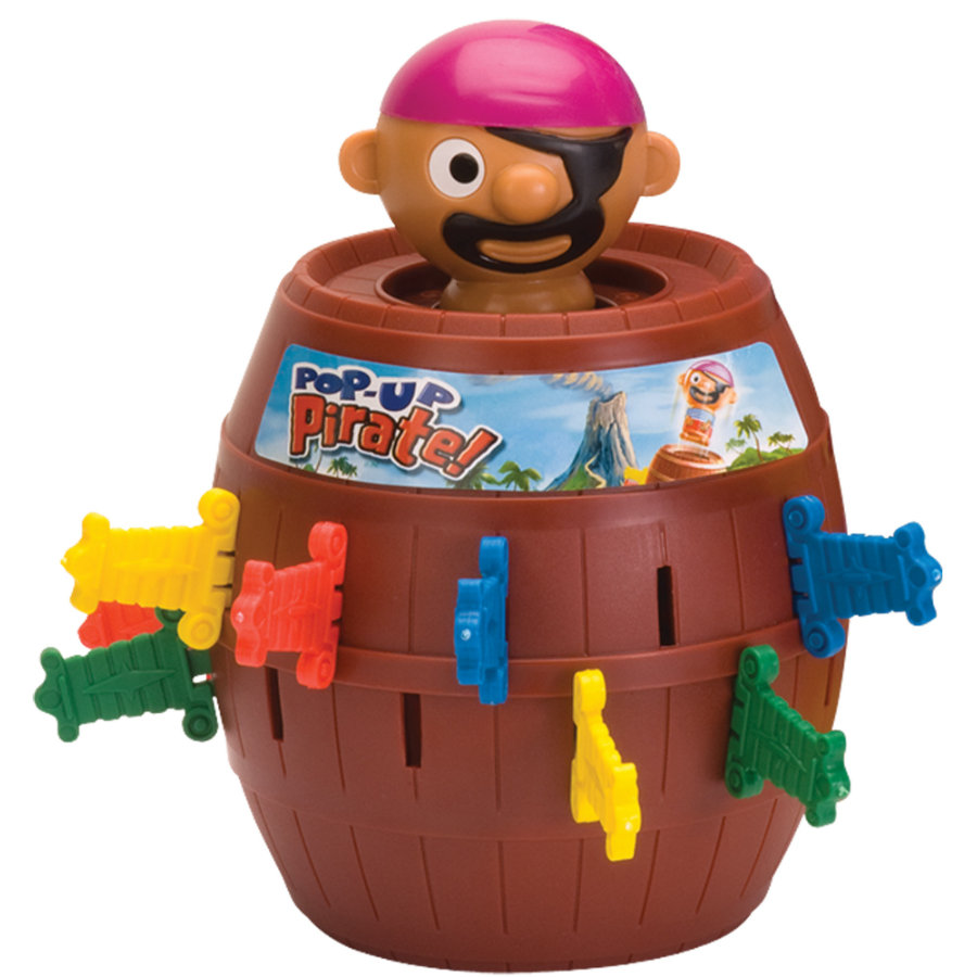TOMY Pop up Pirát