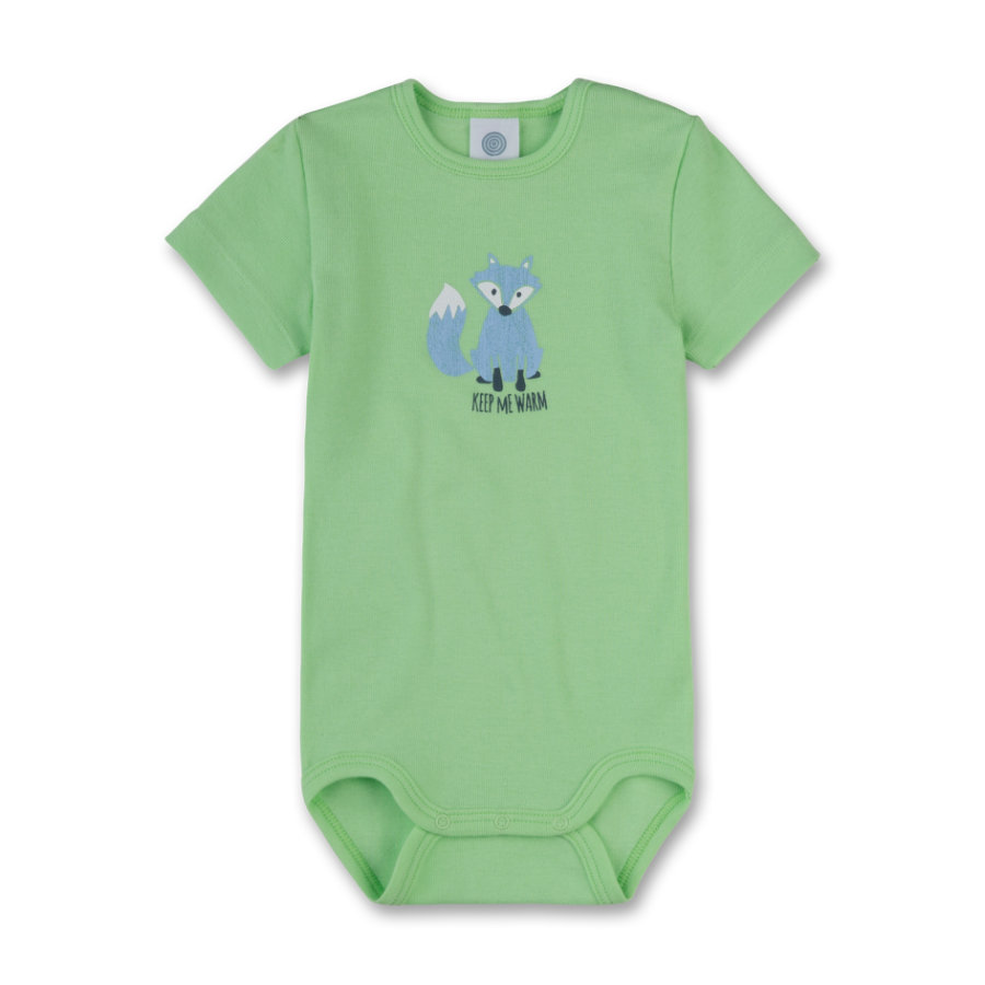 Sanetta Boys Romper 1/4 Arm green