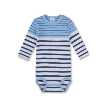 Sanetta Boys Romper 1/1 Arm light blue
