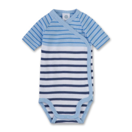 Sanetta Boys Wikkelromper 1/4 Arm light blue