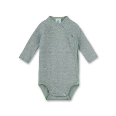 Sanetta Boys Wickelbody 1/1 Arm grey
