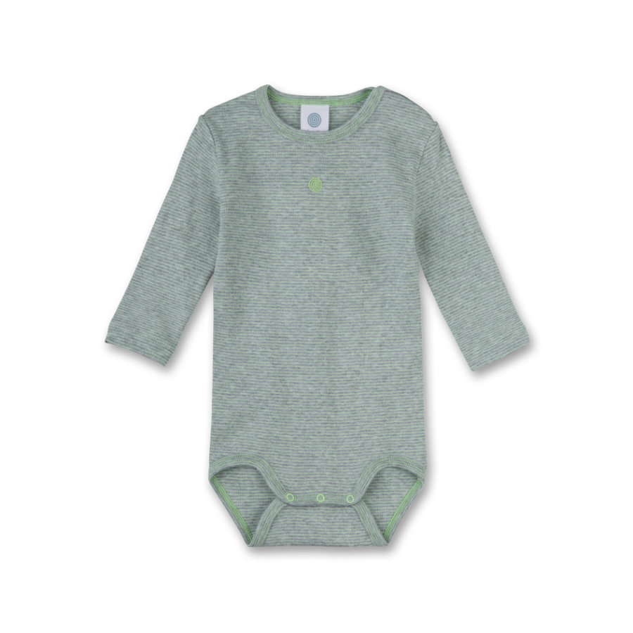 Sanetta Boys Romper 1/1 Arm grey