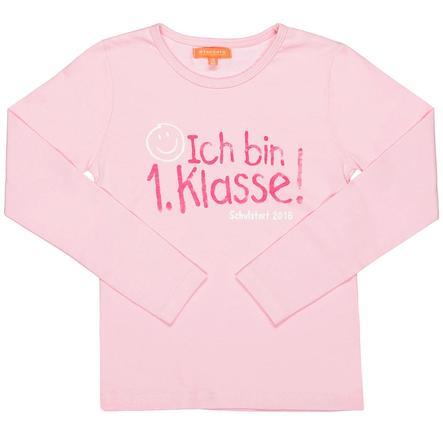 STACCATO Chemise Sayingshirt 1ère classe rose foncé