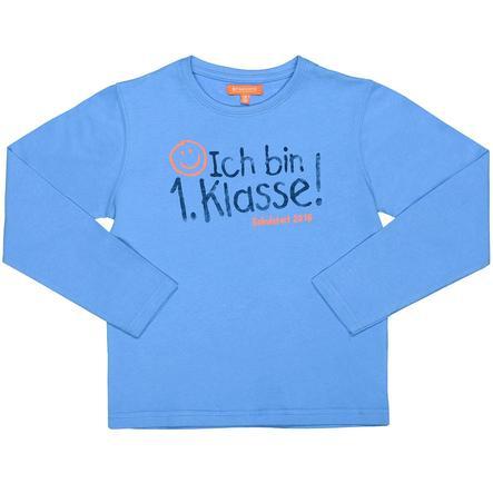 STACCATO Chemise Sayingshirt 1ère classe bleu azur