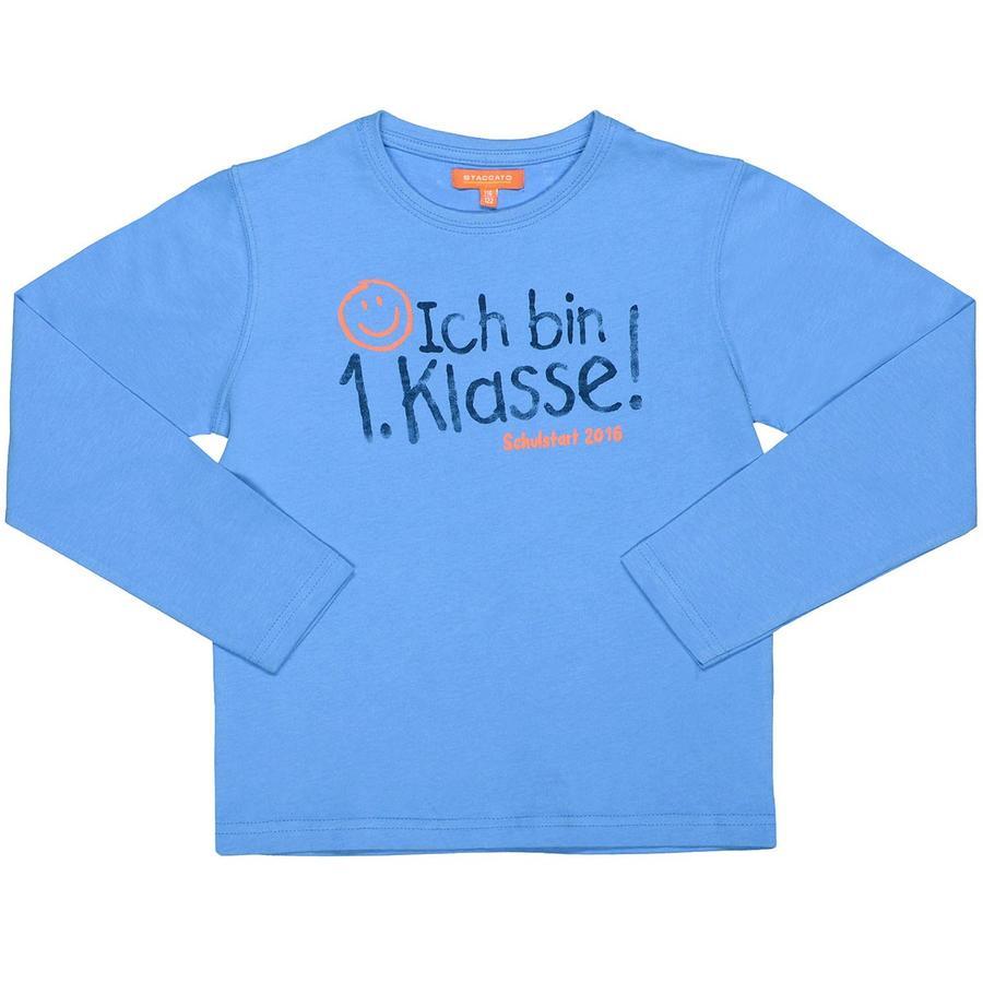 """STACCATO Koszulka z napisem """"1 klasa azure blue""""."""