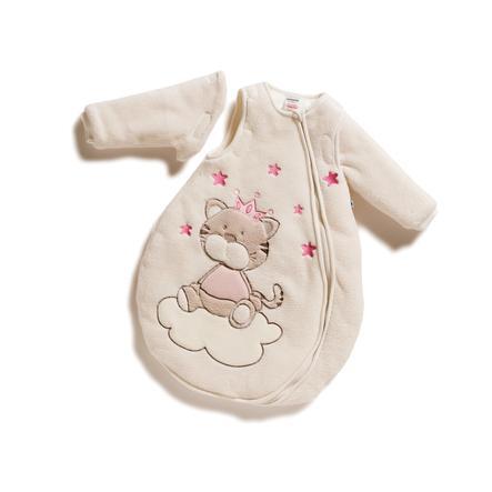 JACKY Sovpåse med avtagbara ärmar, fleece