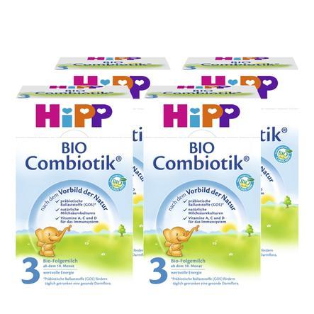 HiPP 3 Bio Combiotik ® Folgemilch 4 x 600g