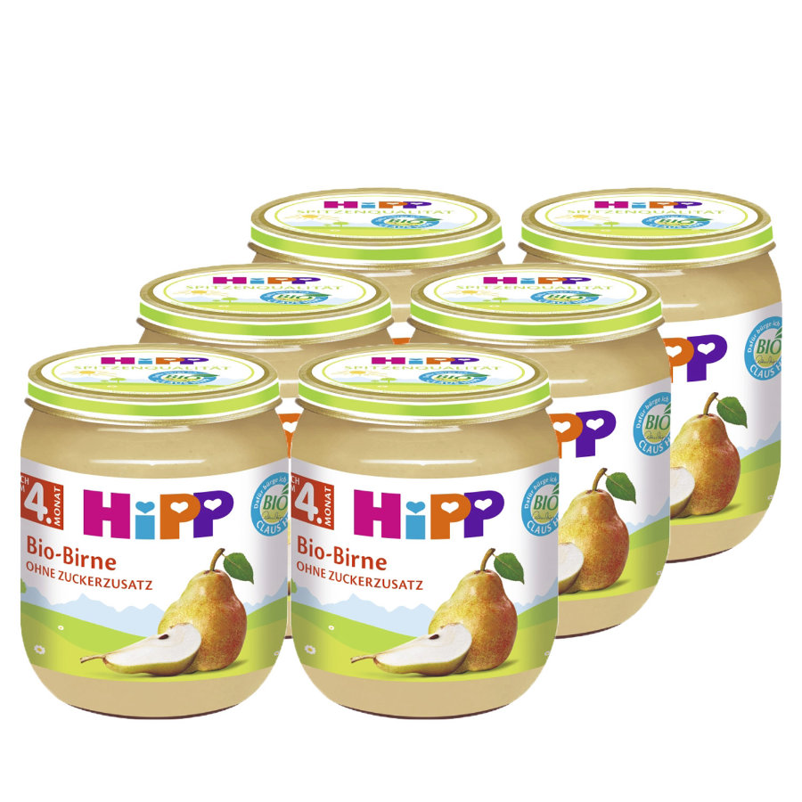 HIPP Bio Pear 6 x 125g