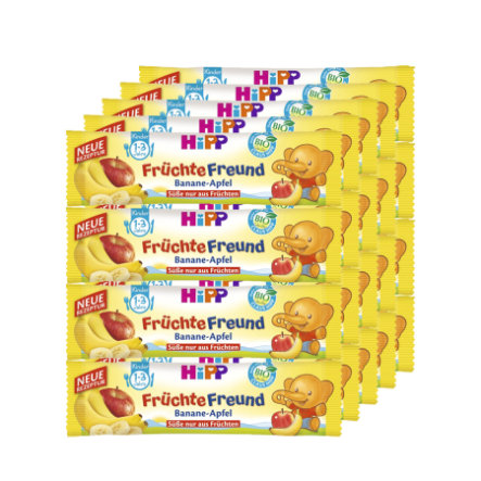 HiPP Fruity Friends Banana Apple 20 x 25g