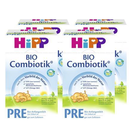 Hipp Pre Combiotik Infant Formula 4 x 600g