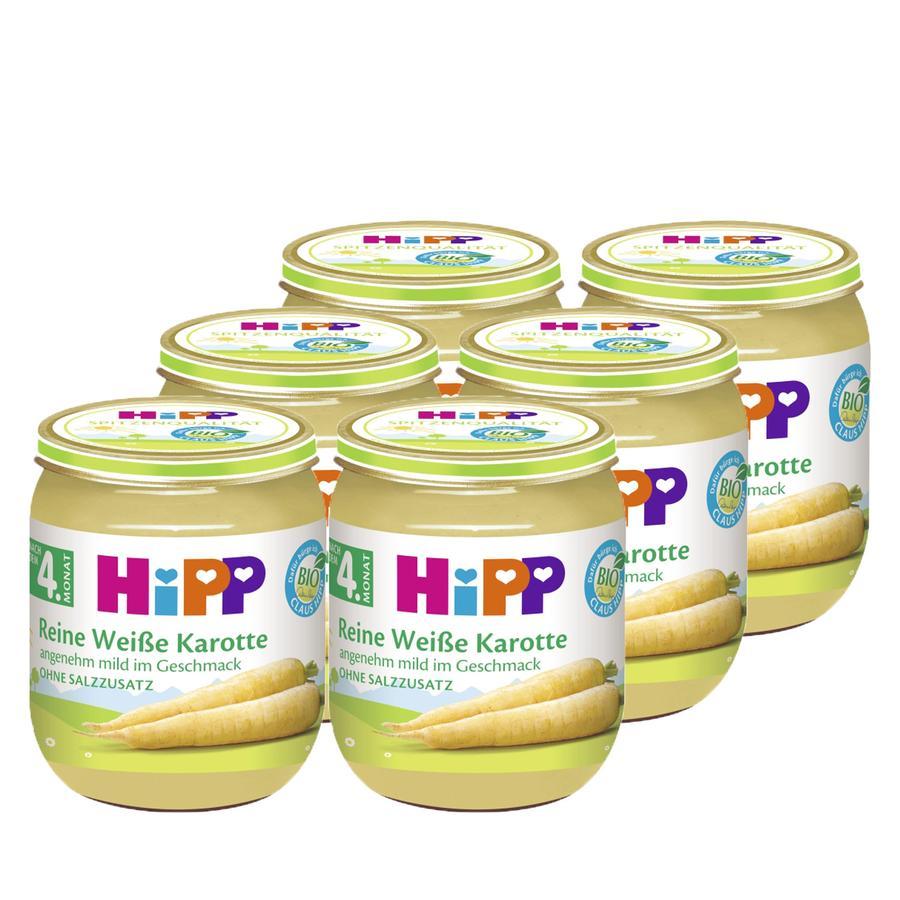 HiPP reine weiße Karotte 6 x 125 g