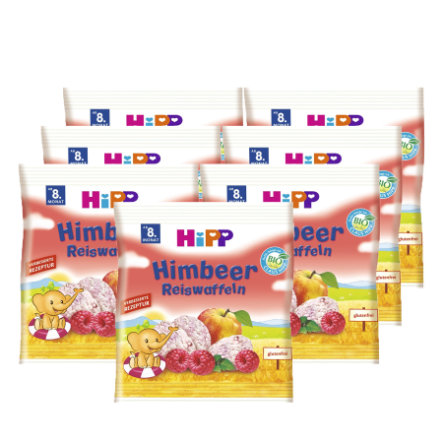 HiPP Reiswaffeln Himbeer 7x30g