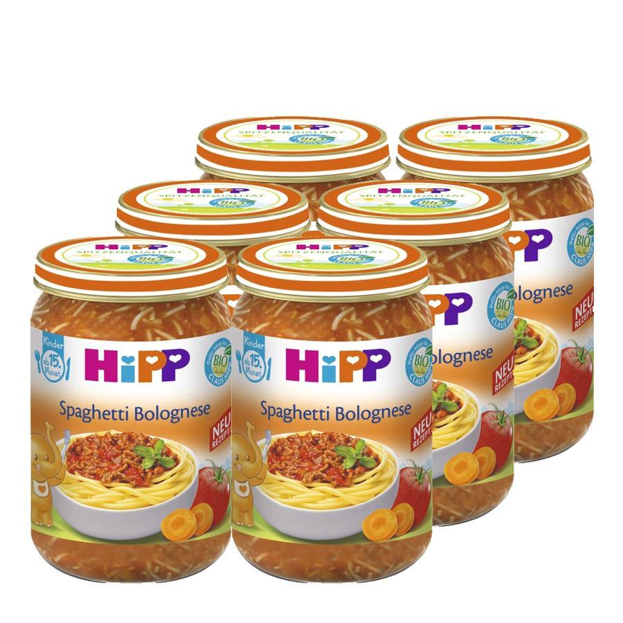 HiPP Bio Spaghetti Bolognese 6 x 250g