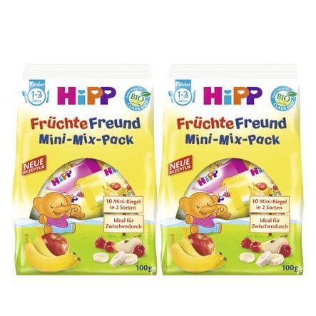 HiPP Fruity Friends Mini-Mix-Pack 2x100g